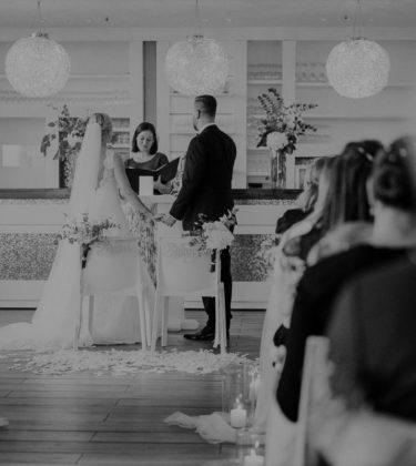 Ja-Wort, Traufrage, Brautpaar