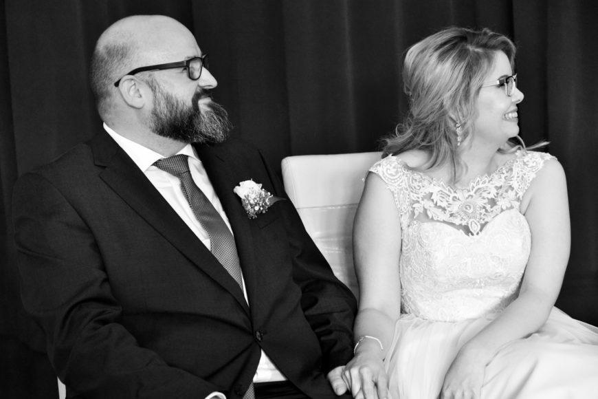 Brautpaar in der freien Trauung
