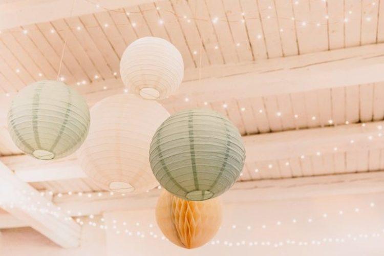 Lampions, Lichterkette, Willkommenfest, Zeremonie