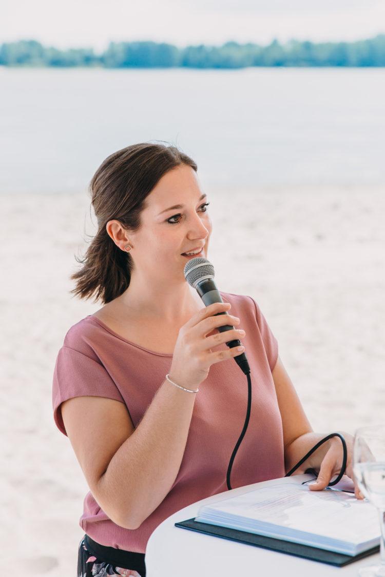 Freie Rednerin, Strandhochzeit, heiraten in Hamburg